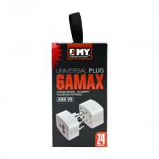 EMY UNIVERSAL PLUG 6A - USE Worldwide