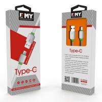 EMY Type-C 2.4A Charging & Data Usb Cable