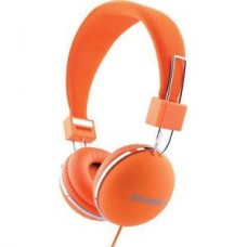 Lounge On Earz Headphones Orange 3.5mm Jack