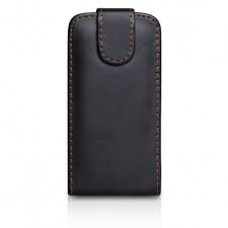iPhone 6 Plus Black Flip Pouch