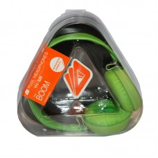 Music Headphones with mic 3.5mm Green