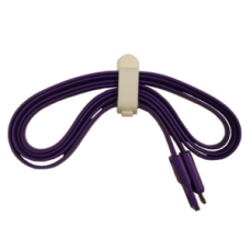 New Flat Strong iPhone 5 5S 5C Usb Cable Purple