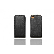 IPhone 4G 4S Black Skin Pattern Design Flip Pouch Case