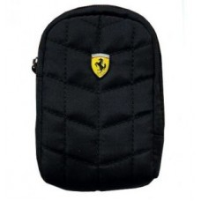 Genuine Ferrari Universal Black Zip Case