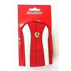 Genuine ferrari universal red/white zip case