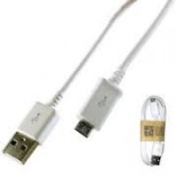 White Samsung Micro Usb Cable