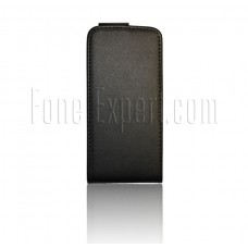 iPhone 5 5S black flip pouch