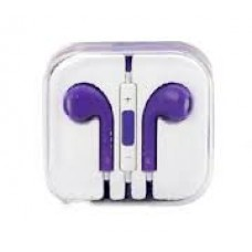 Purple iPhone Earpods Handsfree
