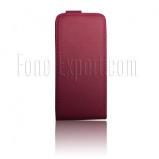 iPhone 5 5S pink flip pouch