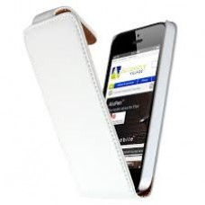 iphone 5 white flip chic case