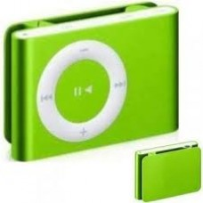micro sd mp3 player lime green
