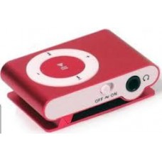 micro sd mp3 player red