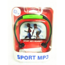 MP3 Sports Headset Micro sd supported