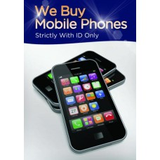 We Buy Mobile Phones Poster