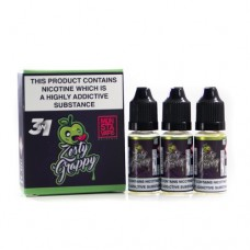 Monsta Zesty Grappy 3MG 3 x 10ml Vape Juice