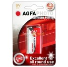 AGFA Everyday Power Zinc 9V Pack of 1