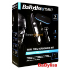 BaByliss 7630CU Mens Mini Nose Ear Eyebrow Hair Trimmer Clipper Grooming Kit
