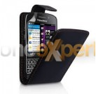 Blackberry Q10 Flip Case Black