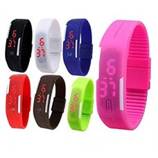 LED FUN Watch For Kids Adults -  Green