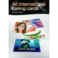 All International Calling Cards Poster
