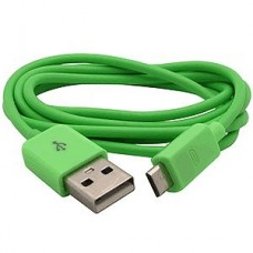 Green Micro USB Cable