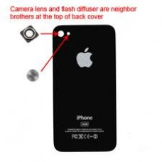 iphone 4s back cover black replacement