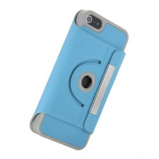 iphone 5 360 turn stand case blue
