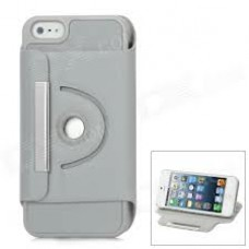 iphone 5 360 turn stand case grey
