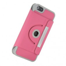 iphone 5 360 turn stand case pink