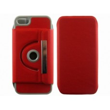 iphone 5 360 turn stand case red