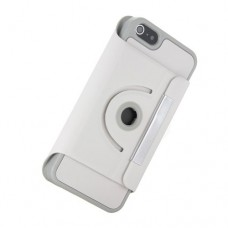 iphone 5 360 turn stand case white
