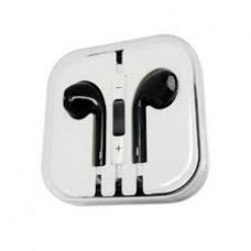 Black iPhone Earpods Handsfree