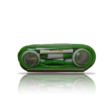 iphone handsfree volume control green