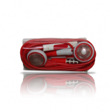 iphone handsfree volume control red