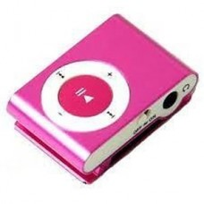 Pink Micro SD MP3 Player