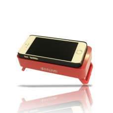 Wireless induction Sound Speaker Red