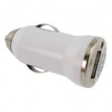 USB Car  Adaptor Charger White 1A